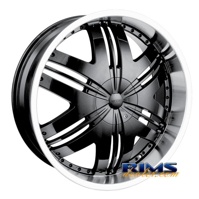 Pictures for Dip Rims PHOENIX-[D36] machined w/ silver
